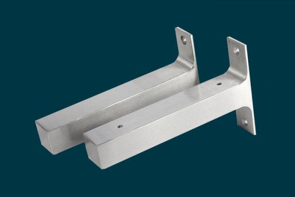 Flexi Storage Decorative Shelving Style Shelf Brackets Left and Right isolated