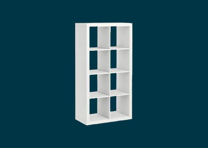 Clever Cube 2 x 4 White