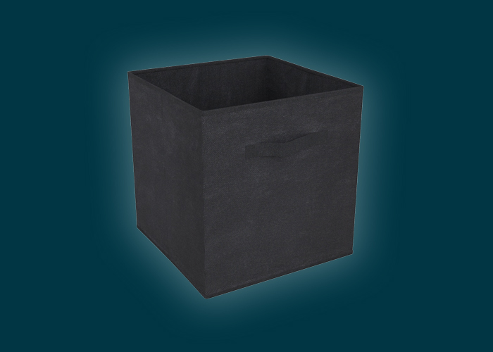 Clever Cube Compact Fabric Insert Black