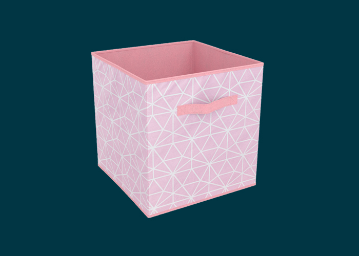 Clever Cube Compact Fabric Insert Geometric