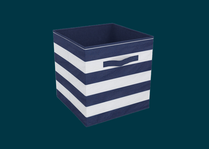 Clever Cube Compact Fabric Insert Nautical Days