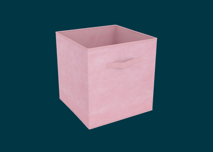Clever Cube Compact Fabric Insert Pale Pink