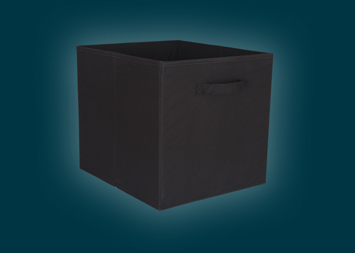 Clever Cube Fabric Insert Black
