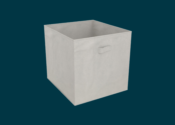 Clever Cube Fabric Insert Light Grey