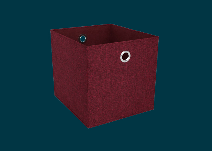Clever Cube Premium Fabric Insert Woven Tango