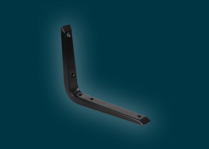 Reinforced Bracket Black 150x200mm