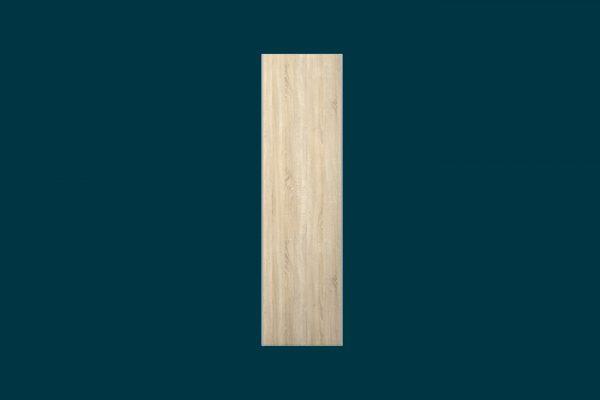 Flexi Storage Wardrobe Sliding Wardrobe Door Oak isolated