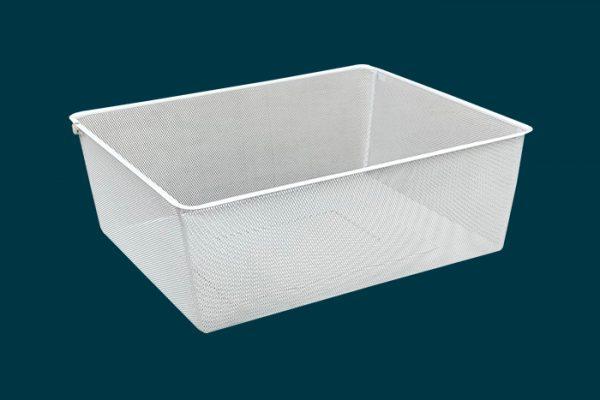 Flexi Storage Wardrobe Walk-In Wardrobe Mesh Basket isolated