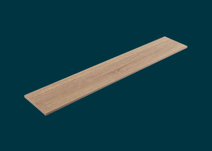 Home Solutions Timber Shelf Oak 1200x200x16mm