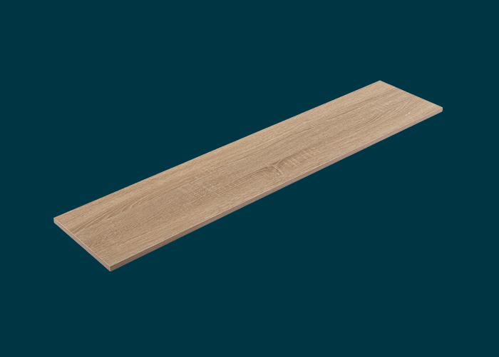 Home Solutions Timber Shelf Oak 1200x250x16mm