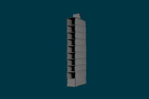 Flexi Storage 9 Shelf Premium Hanging Organiser isolated