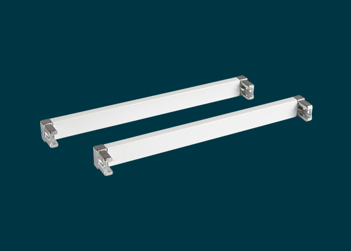 Home Solutions 230mm Cross Bars & L-Connector White