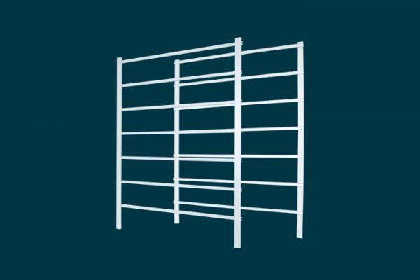 Flexi Storage Home Solutions 7 Runner Frame White isolated