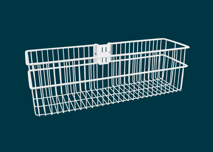 Home Solutions Large Deep Storage Basket White