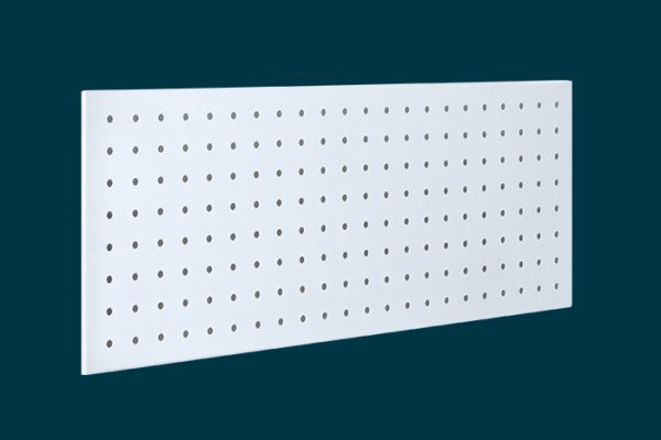 Flexi Storage Home Solutions Pegboard White isolated