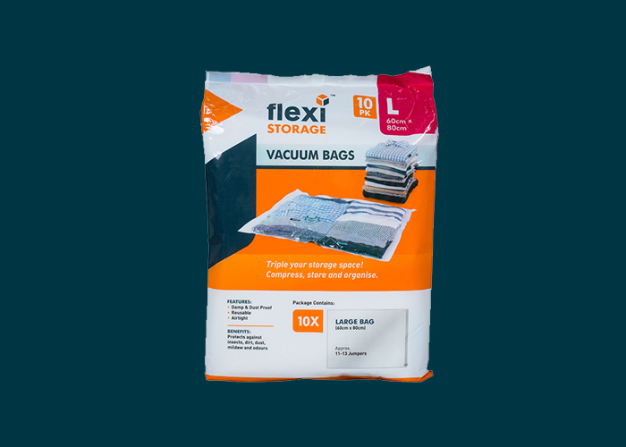 Vacuum Storage Bag 10PK Large