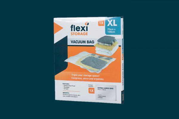 Flexi Storage Vacuum Storage Bag Extra Large packaging isolated