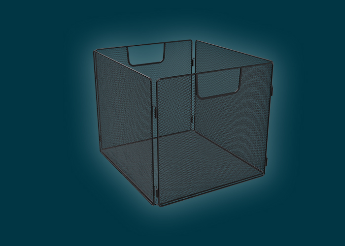 Clever Cube Wire Insert Mesh Black