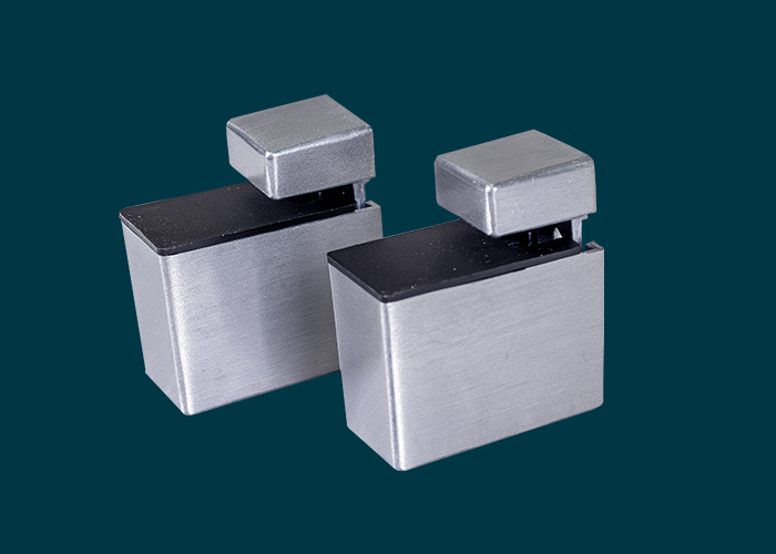 Recto Shelf Clip Aluminium