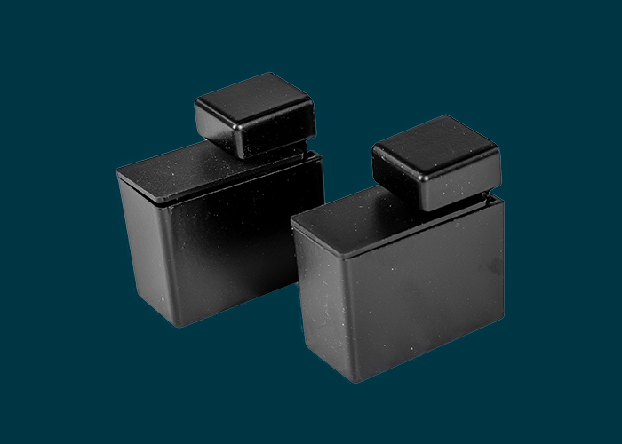Recto Shelf Clip Matt Black