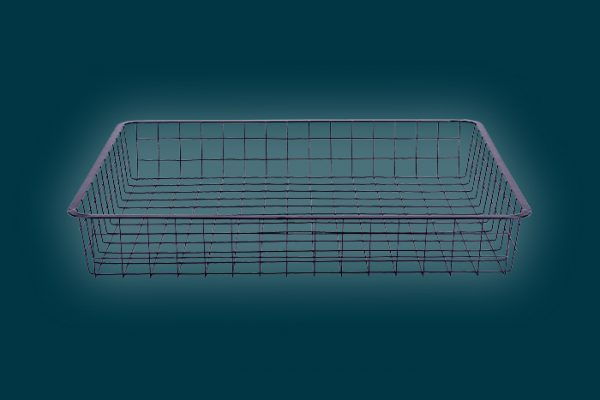 Flexi_Storage_Home_Solutions_Full_Width_Wire_Basket_1_Runner_85mm_Black_1