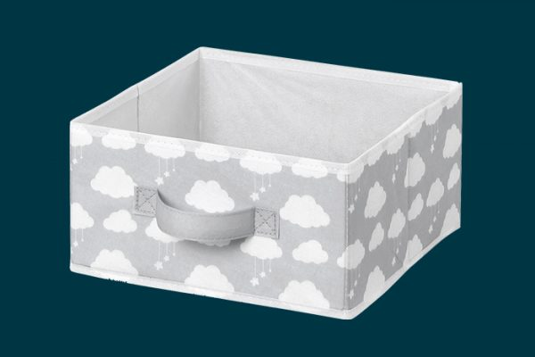 Flexi Storage Kids Fabric Insert Clouds isolated
