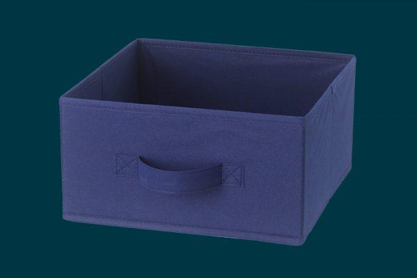 Flexi Storage Kids Fabric Insert Navy Blue isolated