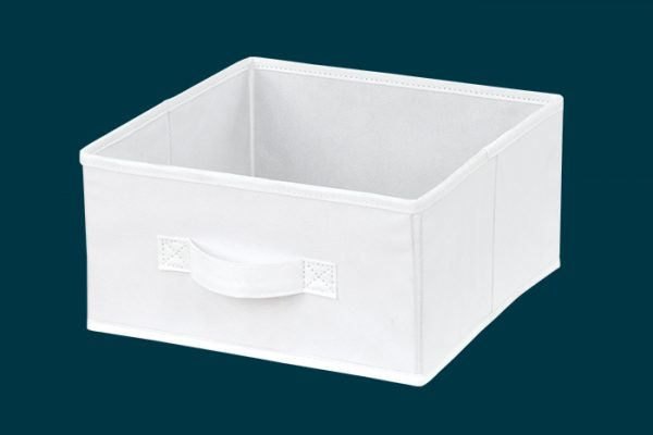 Flexi Storage Kids Fabric Insert Vivid White isolated