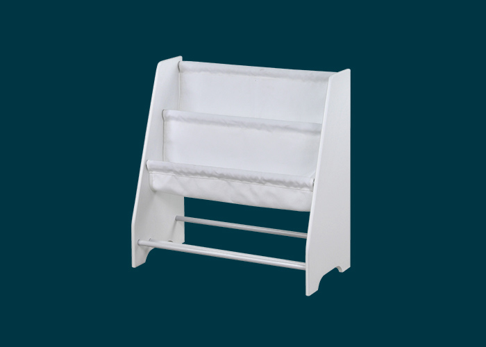 Kids Sling Fabric Storage Unit White