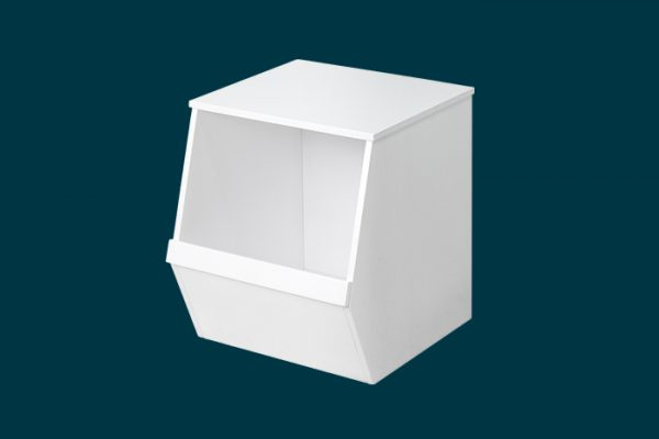 Flexi Storage Kids Storage Box White isolated